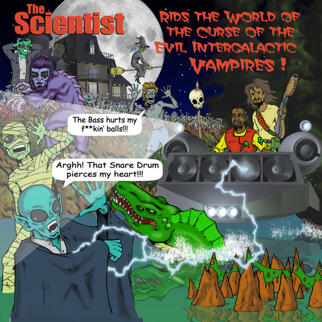 The Scientist Rids the World of the Evil Curse of The Intergalactic Vampire