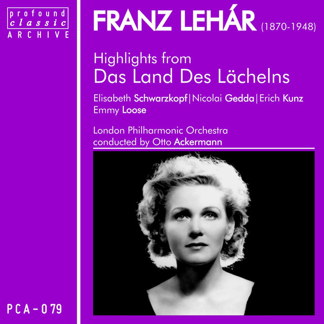Franz Lehár: Highlights from Das Land Des Lächelns