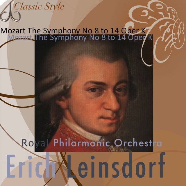Mozart : Symphonies No. 8 to 14