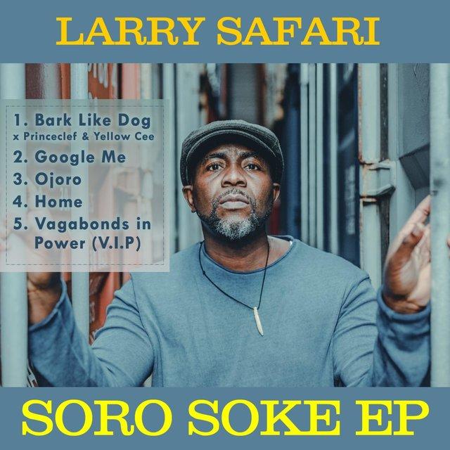 Cover art for album Ojoro by Larry Safari