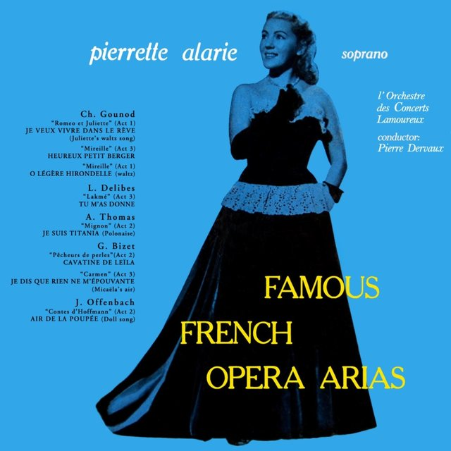 Famous French Opera Arias