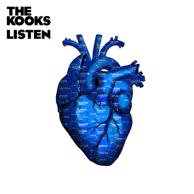 Cover art for album Listen by The Kooks