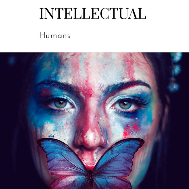 Cover art for album Intellectual Humans by Dr Rahul Vaghela