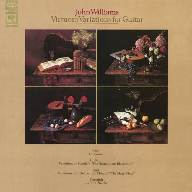 John Williams - Virtuoso Variations for Guitar