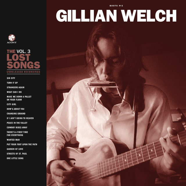 Cover art for album Boots No. 2: The Lost Songs, Vol. 3 by Gillian Welch