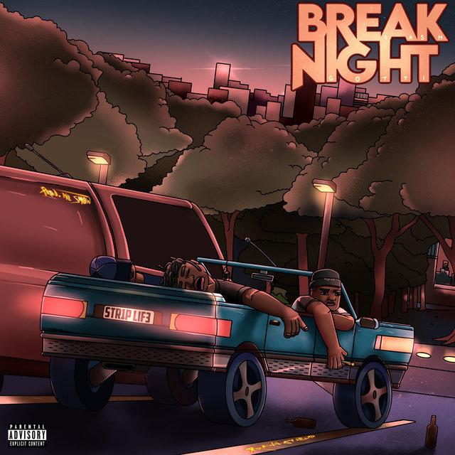 Cover art for album Break Night by Cash Gotti