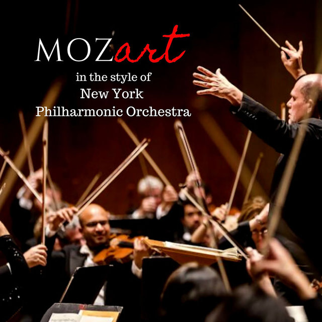 Mozart in the style of New York Philharmonic Orchestra