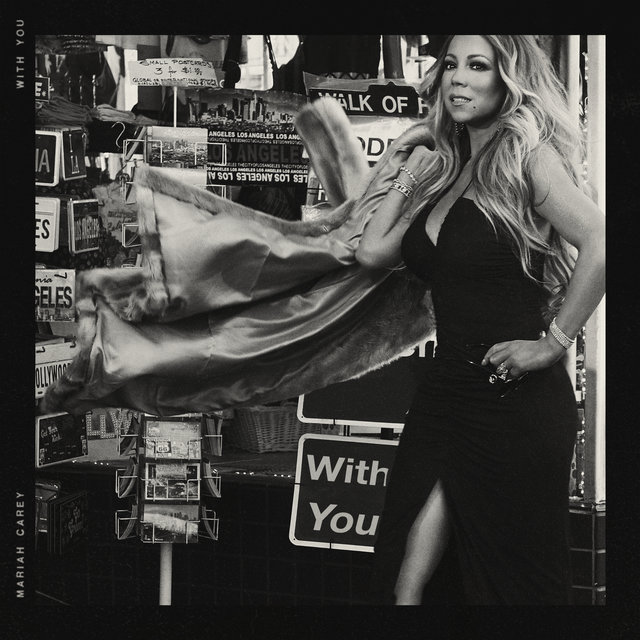 Cover art for album With You by Mariah Carey