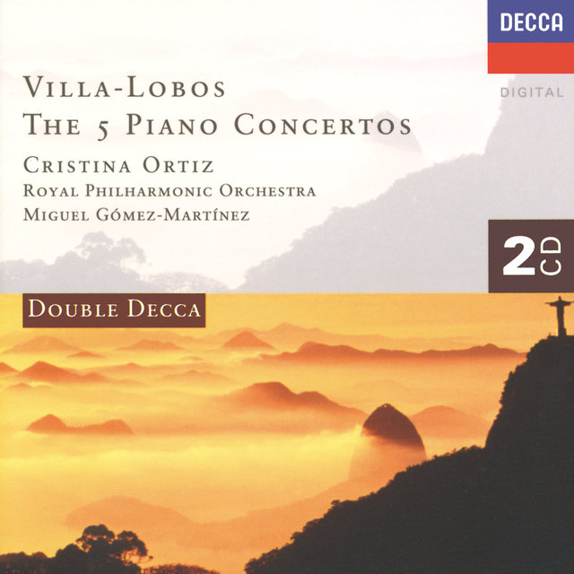 Villa-Lobos: The Five Piano Concertos (2 CDs)