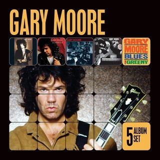 5 Album Set (Remastered) (Run for Cover/After the War/Still Got the  Blues/After Hours/Blues for Greeny)Gary Moore
