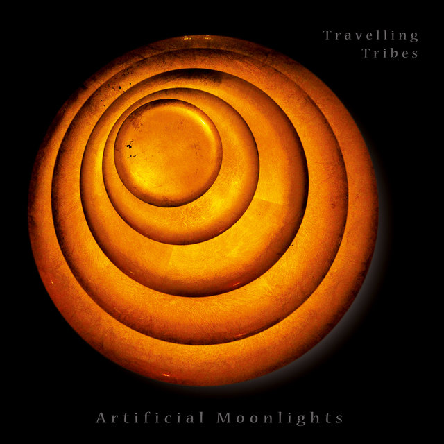 Cover art for album Artificial Moonlights by Travelling Tribes, Anders Filipsen, Emil Jensen, Victor Dybbroe, Lil Lacy