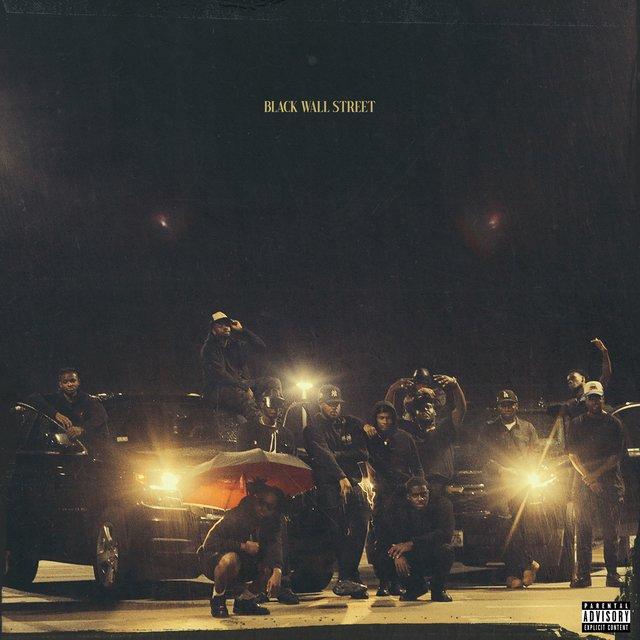 Cover art for album BLACK WALL STREET by Van Buren Records, AzizTheShake