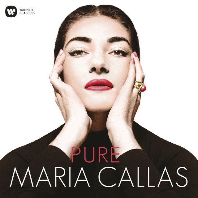 Cover art for album  by Maria Callas