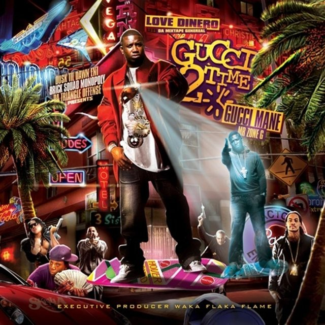 Cover art for album Gucci 2 Time by Gucci Mane