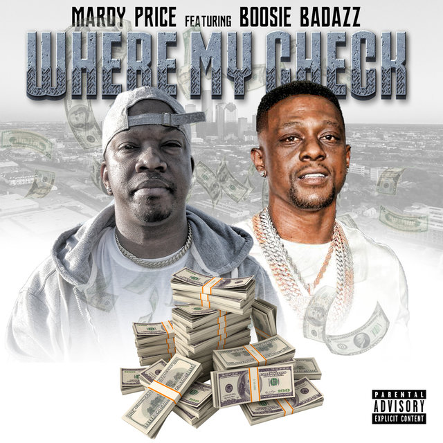 Cover art for album  by Mardy price, Boosie Badazz