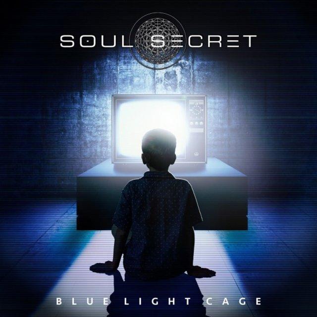 Cover art for album Blue Light Cage by Soul Secret