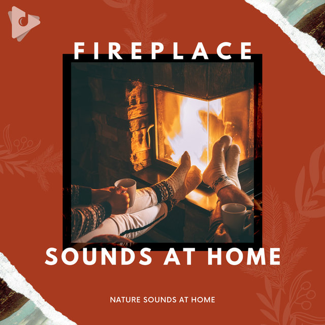 Fireplace Sounds At Home