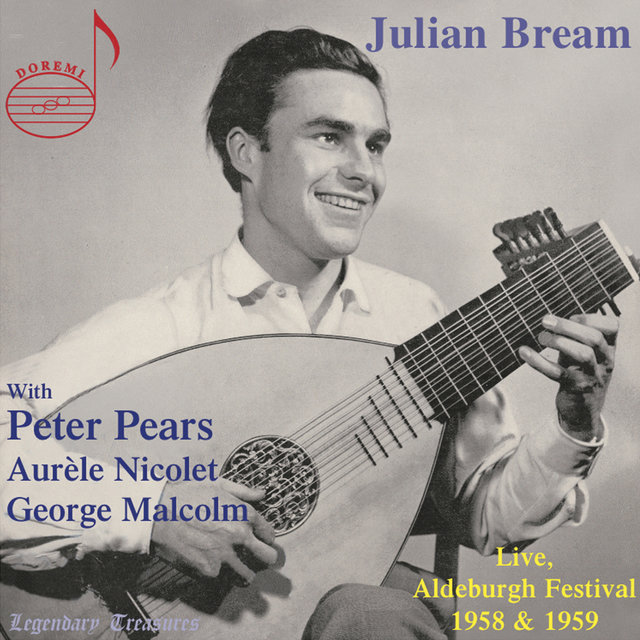 Julian Bream: Live from Aldeburgh Festival 1958 & 1959