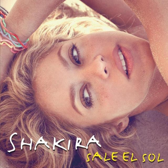 Cover art for album Sale el Sol by Shakira
