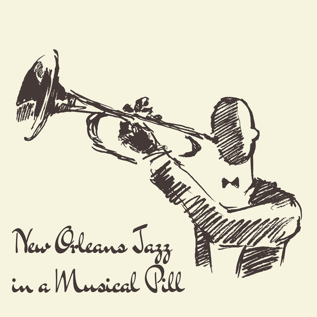New Orleans Jazz in a Musical Pill - Brilliant Instrumental Music Straight from American Streets, Saxophone, Piano, Trumpet, Positive Energy