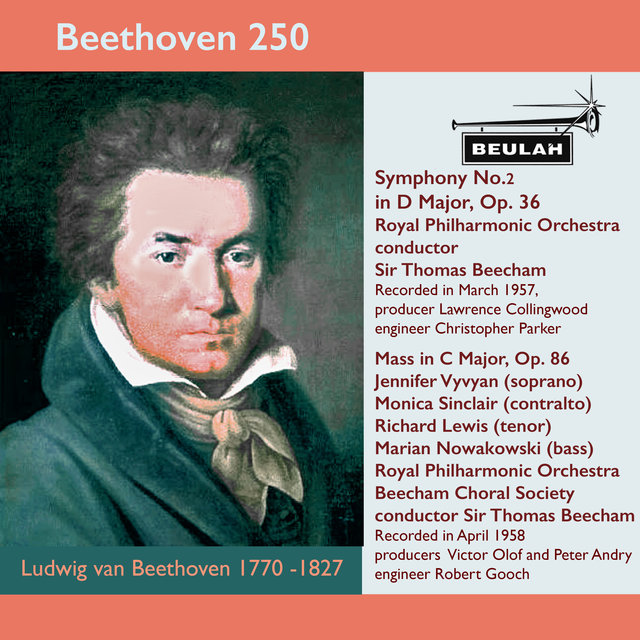 Beethoven 250 Symphony No.2, Mass in C Major