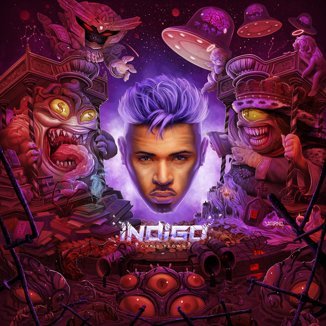 Cover art for album  by Chris Brown