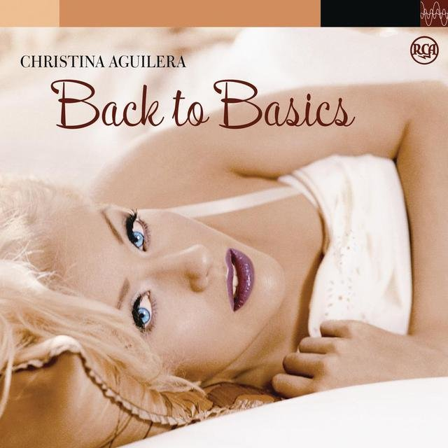 Cover art for album  by Christina Aguilera