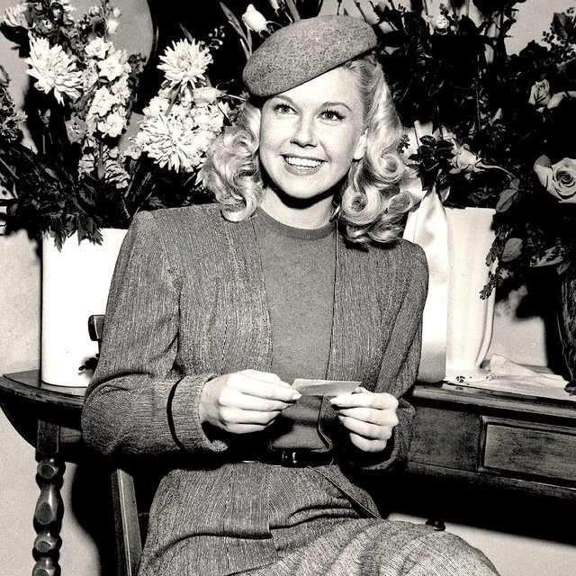 This is Doris Day!