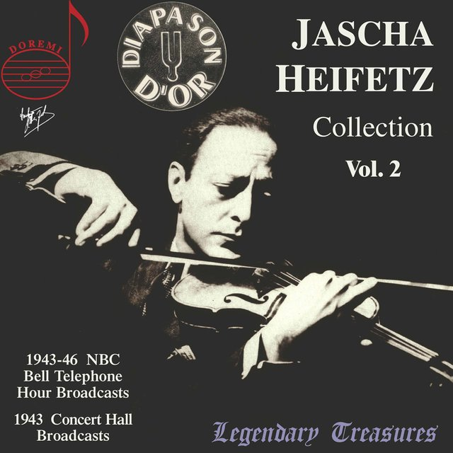 Jascha Heifetz Collection, Vol. 2 (Live)