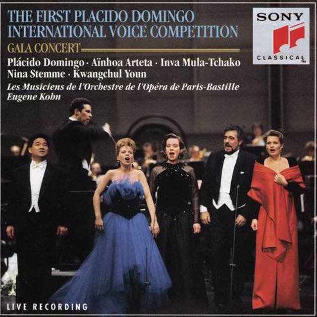 Premier Concours International de Voix D'Opéra Plácido Domingo; Paris 1993 / Concert of the Prizewinners