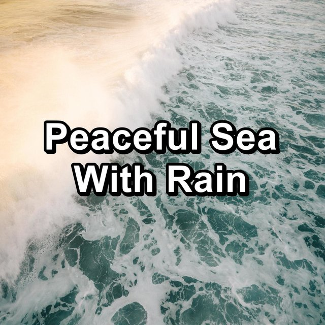 Peaceful Sea With Rain