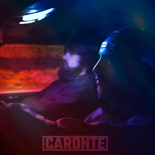 Cover art for album Caronte by CRESPO EL SANTO, P. Leyenda