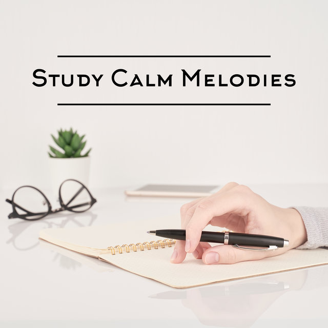 Study Calm Melodies - Soft Jazz Music for Relaxation, Concentration and Learning