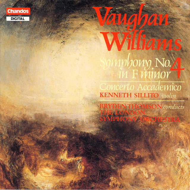 Vaughan Williams: Symphony No. 4 / Violin Concerto in D Minor