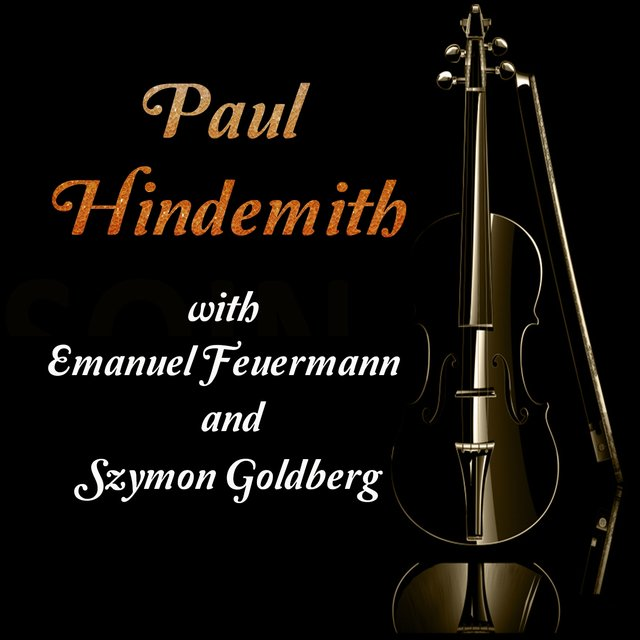 Paul Hindemith with Emanuel Feuermann and Szymon Goldberg