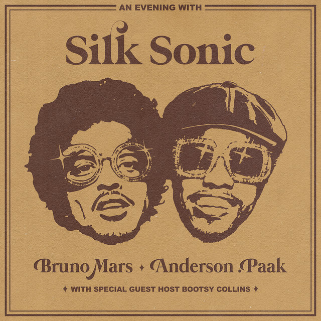 Cover art for album  by Bruno Mars, Anderson .Paak, Silk Sonic