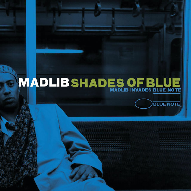 Cover art for album Shades Of Blue: Madlib Invades Blue Note by Madlib