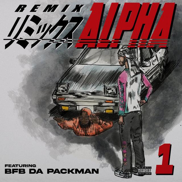 Cover art for album Alpha (feat. Bfb Da Packman) [Remix] by Guapdad 4000, Bfb Da Packman