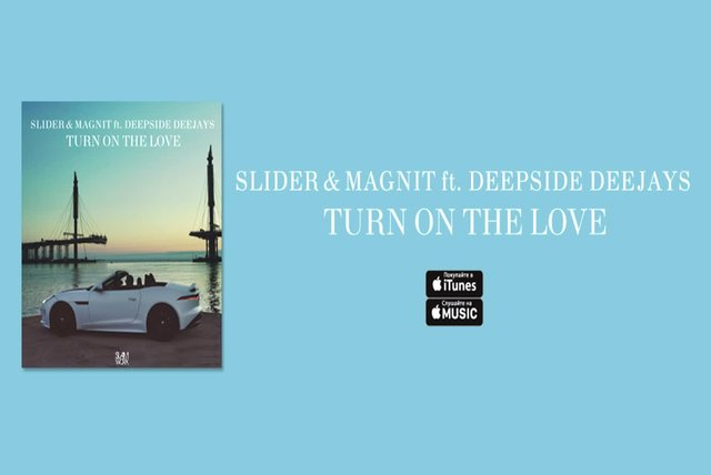 Slider & Magnit Ft. Deepside Deejays - Turn On The Love | Music Video
