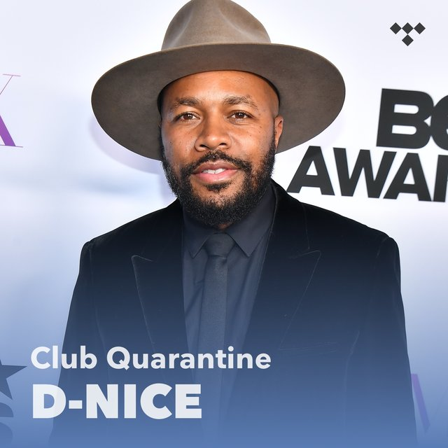 Cover art for album D-Nice: Club Quarantine by D-Nice
