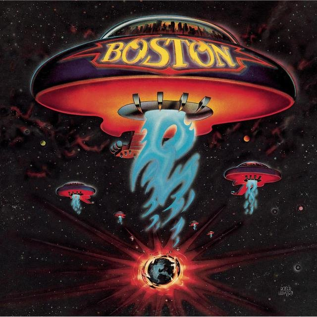 Cover art for album  by Boston