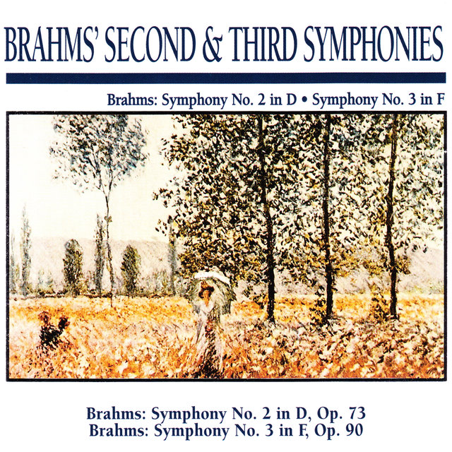 Brahms' Second & Third Symphonies: Brahms: Symphony No. 2 in D · Symphony No. 3 in F