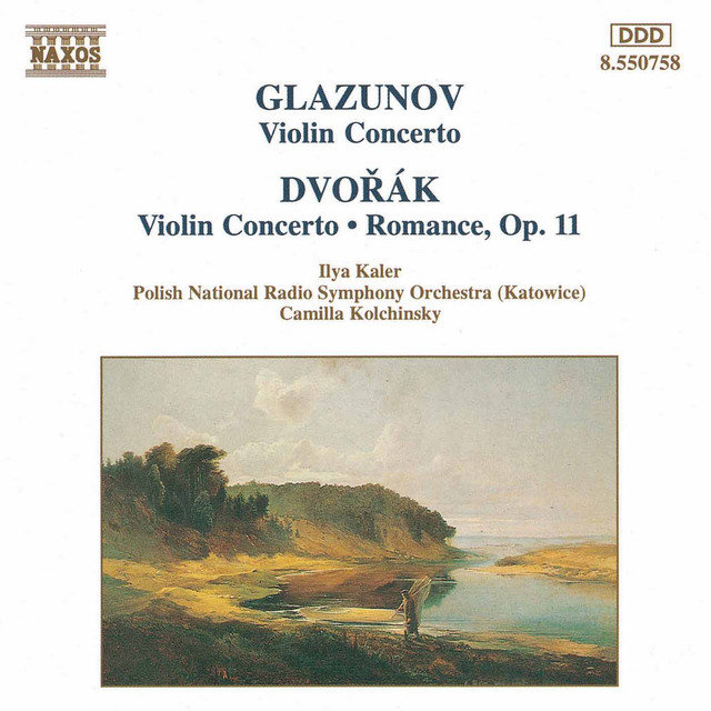 Glazunov / Dvorak: Violin Concertos in A Minor