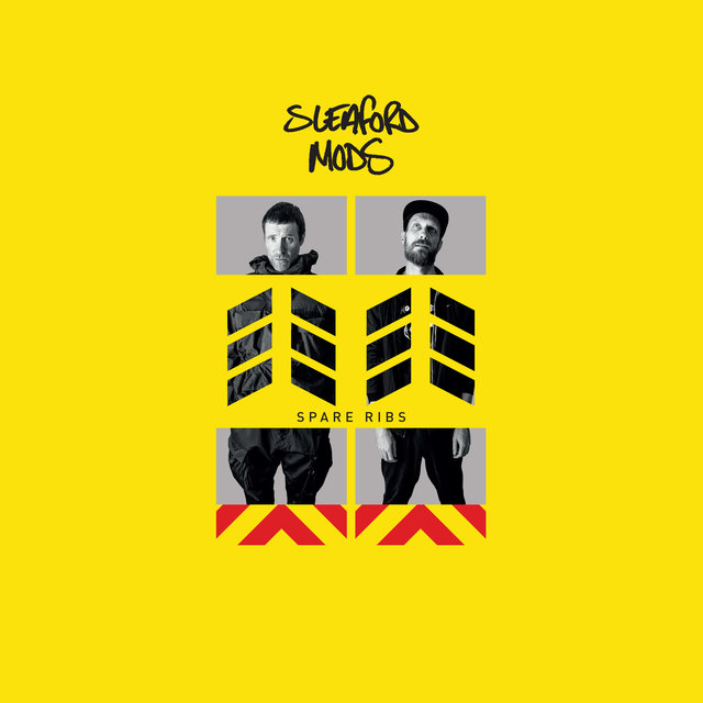 Cover art for album Spare Ribs by Sleaford Mods
