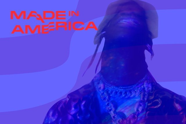 Cover art for album  by Travis Scott, Made In America 2019