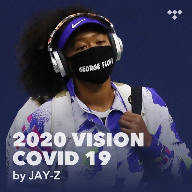 Cover art for album 2020 vision COVID 19 by JAY-Z