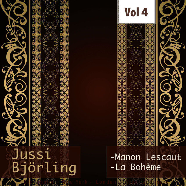 Jussi Björling: Live on Stage, Vol. 4