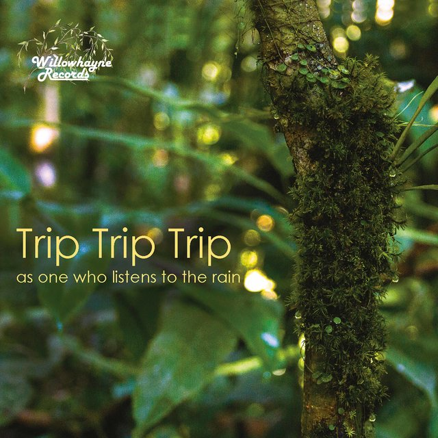 Cover art for album As One Who Listens to the Rain by Trip Trip Trip Trio
