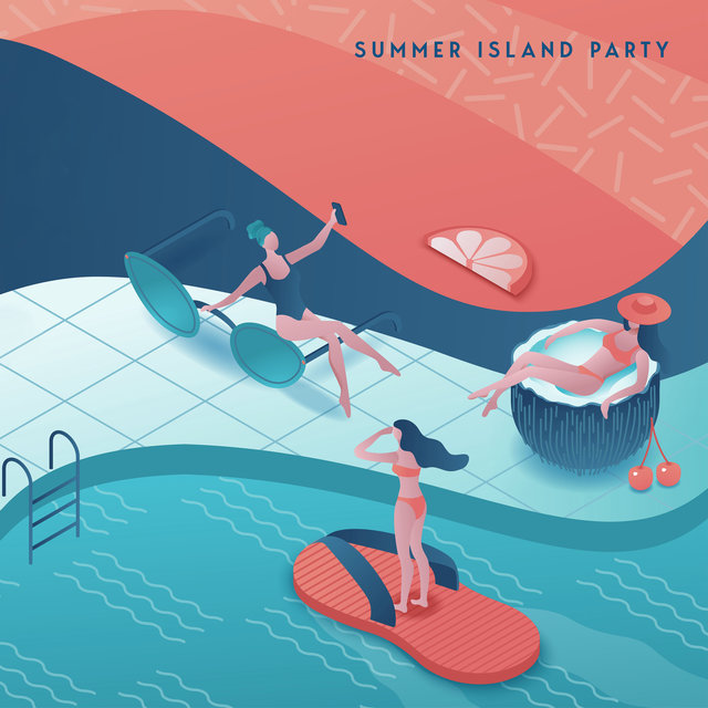 Summer Island Party - Energetic Collection of Dance Chillout Which is Perfect for Listening While Having Fun on a Tropical Beach at Sunset