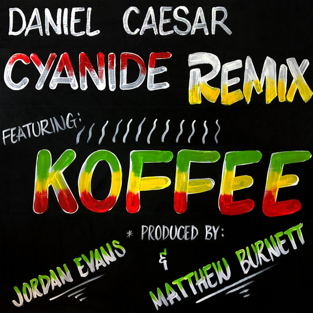 Cover art for album  by Daniel Caesar, Koffee